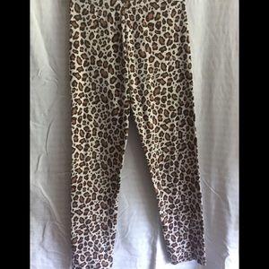 Girl's Gymboree leopard print pant size 12